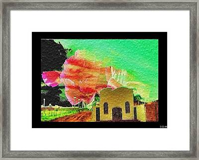 Framed Print featuring the painting Arkansas by Beto Machado