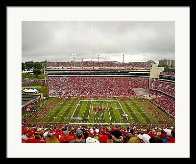 Donald W. Reynolds Stadium Framed Prints