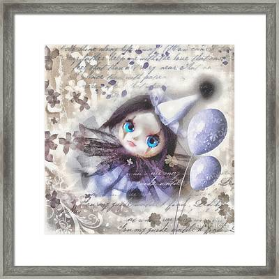 Arlequin Framed Print
