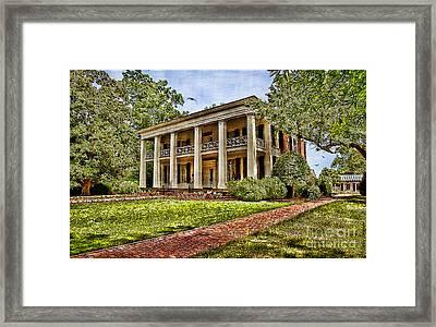 Arlington House Framed Print by Lianne Schneider