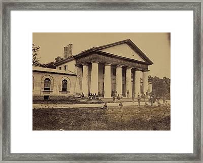 Arlington House, Now A National Park Framed Print by Everett