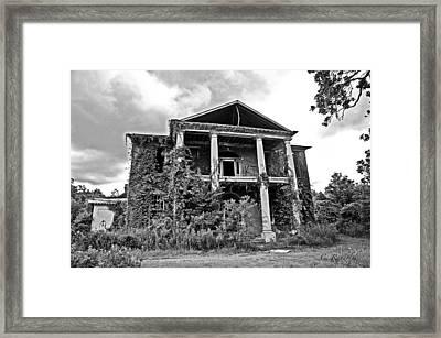 Arlington Ravaged Framed Print by Cheri Randolph