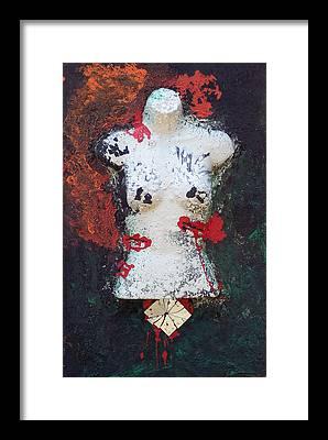 Brian Rock Framed Prints
