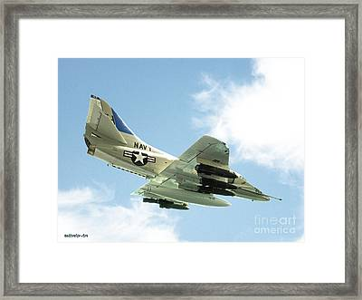 Armed And Dangerous Framed Print by Methune Hively