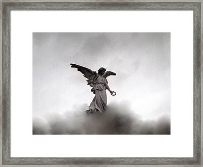 Armless Angel Framed Print
