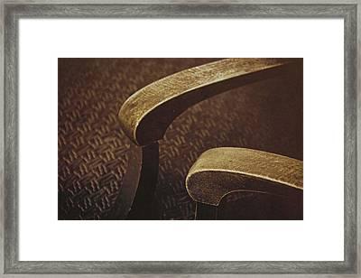 Arms Framed Print by Odd Jeppesen