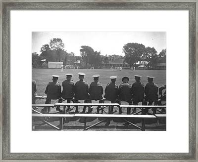 Army Cricket Framed Print