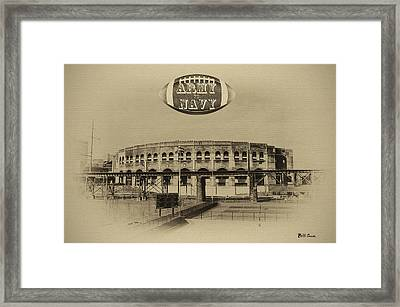 Army Navy Game Franklin Field Framed Print by Bill Cannon