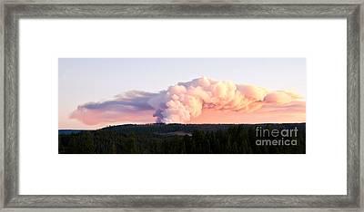 Arnica Fire Framed Print by Bob and Nancy Kendrick