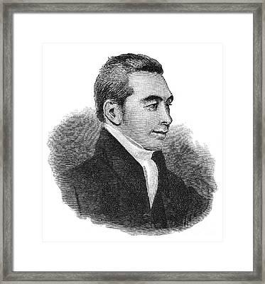 Arnold Buffum (1782-1859) Framed Print by Granger