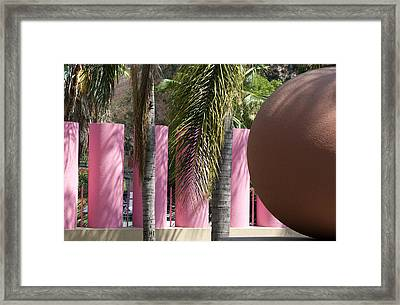 Framed Print featuring the photograph Around In Pershing Square by Lorraine Devon Wilke