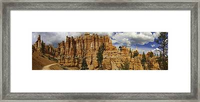 Framed Print featuring the photograph Around The Bend At Bryce Canyon by Gregory Scott
