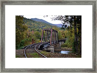 Around The Bend Framed Print