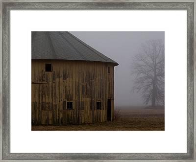 Around The Corner Framed Print by Ed Smith