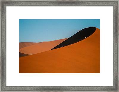 Around The Edge Framed Print