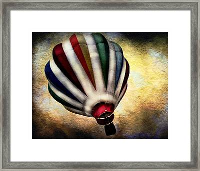 Around The World Framed Print by Colleen Kammerer