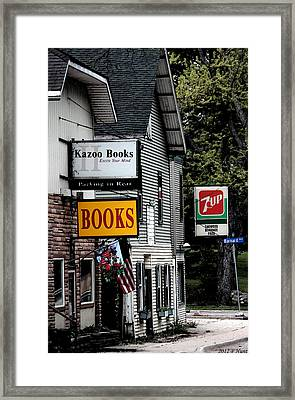 Framed Print featuring the photograph Around Town by Penny Hunt