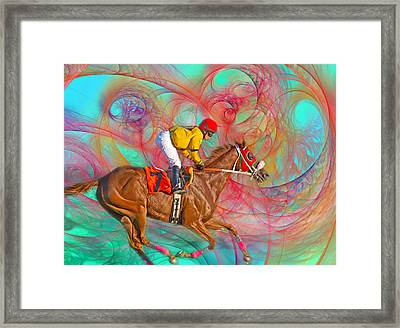 Around Us Framed Print by Betsy Knapp