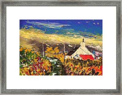 Arran Croft Framed Print by Peter Tarrant