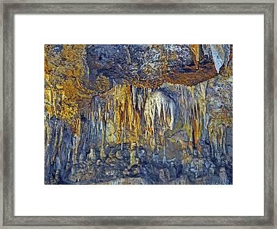 Array Of Stone Framed Print by Lynda Lehmann