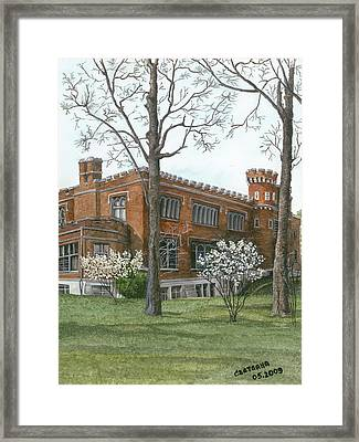 Arrival Of Spring At Culver Framed Print
