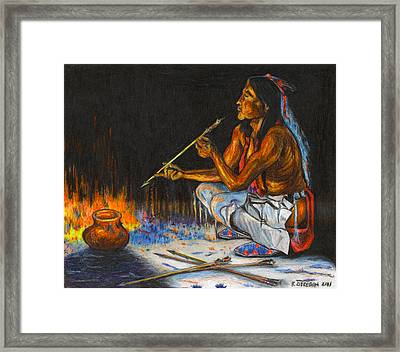 Arrows Framed Print by Ray Obregon