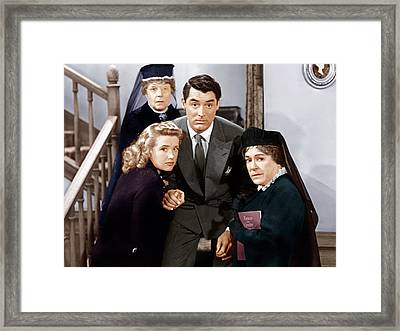 Arsenic And Old Lace, From Left Framed Print