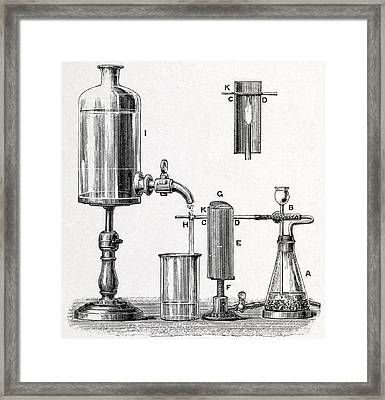 Arsenic Detection, 19th Century Artwork Framed Print by Middle Temple Library