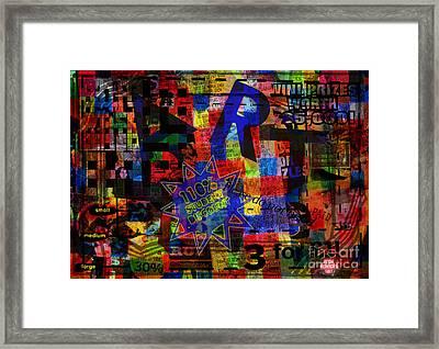 Art 5 Framed Print by Andy  Mercer