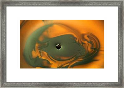 Framed Print featuring the photograph Art Abstract by Odon Czintos