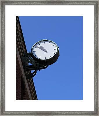 Art Deco Clock Framed Print