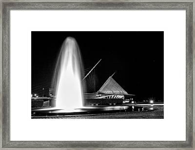 Art Fountain Framed Print