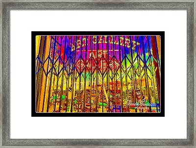 Art Gallery Framed Print