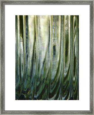 Framed Print featuring the photograph Art Glass 1 by Gerald Strine