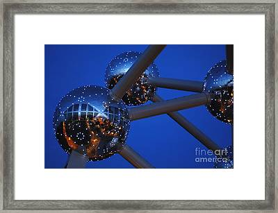 Art In Architecture 3 Framed Print by Bob Christopher