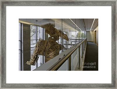 Art Installation Framed Print by Robert Pisano