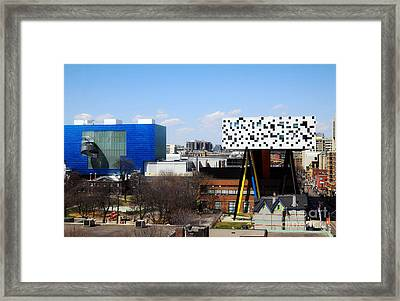 Art Institutions In Toronto Framed Print by Charline Xia