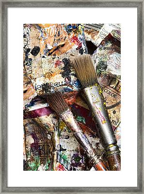 Art Is Messy 1 Framed Print