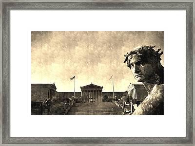 Art Museum Of Philadelphia Framed Print by Andrew Dinh