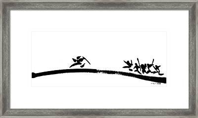 Art Of War Framed Print