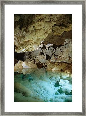 Art Palmer At Lake Of The Clouds Framed Print by Stephen Alvarez
