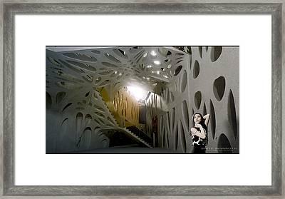 Artacademy Framed Print by White Mammoth