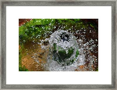 Artesian Well Framed Print