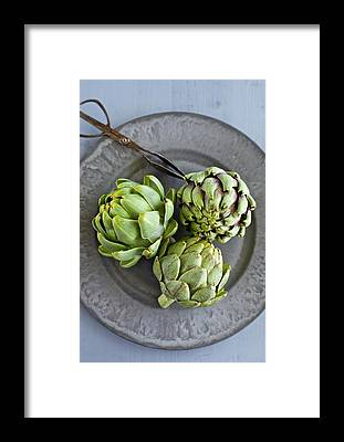 Artichoke Framed Prints