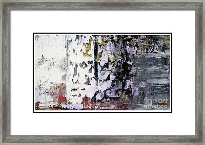 Artifact 13 Framed Print by Charlie Spear