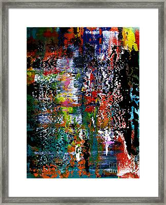 Artifact 15 Framed Print by Charlie Spear
