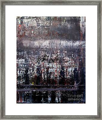 Artifact 2 Framed Print by Charlie Spear