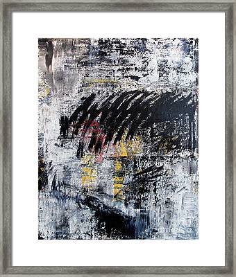 Artifact 4 Framed Print by Charlie Spear