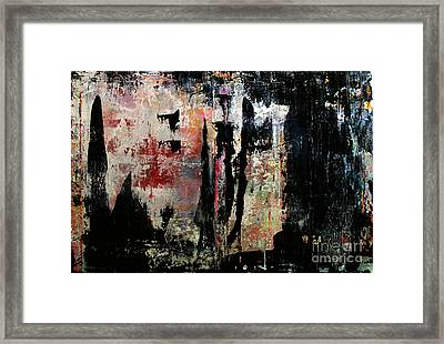 Artifact 7 Framed Print by Charlie Spear