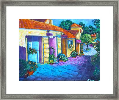Artist Village Framed Print
